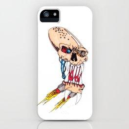 Jet-pack Skull iPhone Case