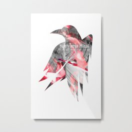 Raven's cloak amnesia Metal Print