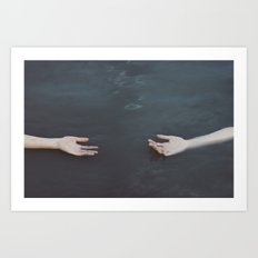 Your other half Art Print