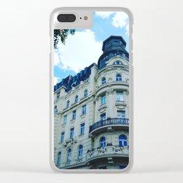Vienne Autriche Clear iPhone Case