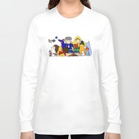 hockey Long Sleeve T-shirts featuring prospect hockey by omelet