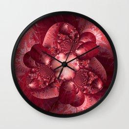 Silk and Satin Wall Clock