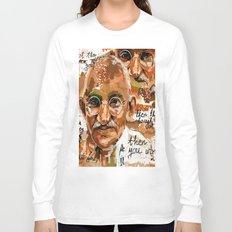 Gandhi wins Long Sleeve T-shirt