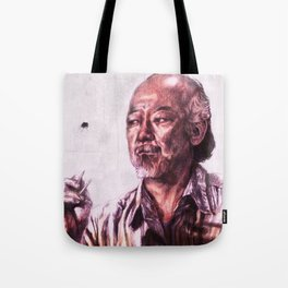 Mr. Miyagi from Karate Kid Tote Bag