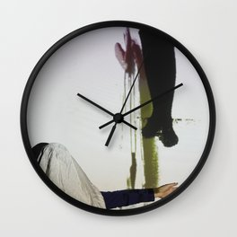 DropArt & Shirly @BYOB TelAviv #04 Wall Clock