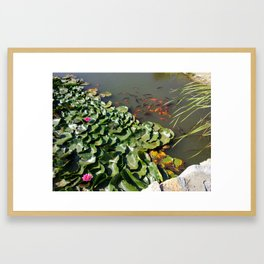 Oriental Nature Framed Art Print