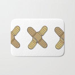 The X Letter Bath Mat