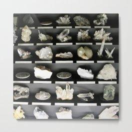 Crystal Cabinet Metal Print