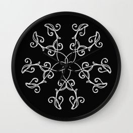 Five Pointed Star Series #5 Wall Clock