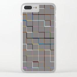 60s 3d SQ Clear iPhone Case