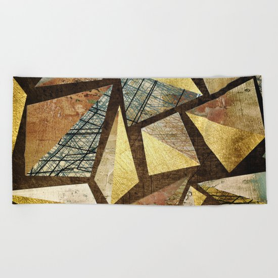 Metallic Beach Towel