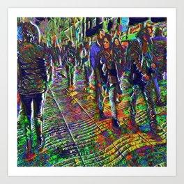 20180106 Art Print