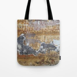 Old grunge wall Tote Bag