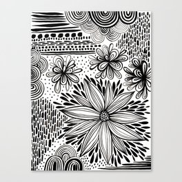 Cacophony of Doodles Canvas Print