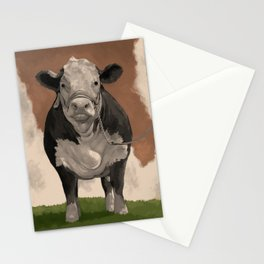 Cow Painting Stationery Cards