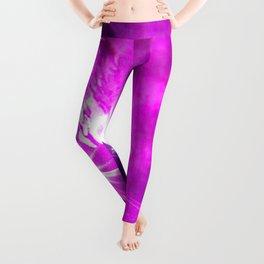 Pink laser Leggings