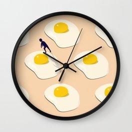 Morning Crawl Wall Clock
