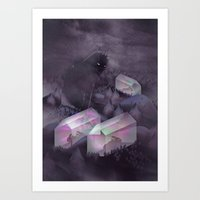 garden Art Prints featuring Garden by Martynas Pavilonis
