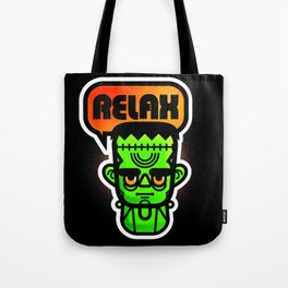 Frankie Says Relax Tote Bag