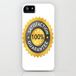 GUARANTEE Pop Art iPhone Case
