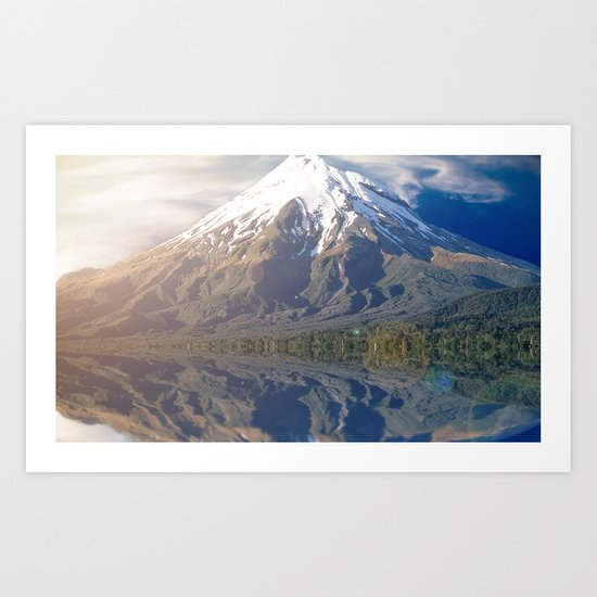 Snow Peak Art Print