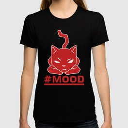 #MOOD Cat Red T-shirt
