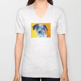 Party Dog Unisex V-Neck