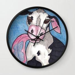Window Licker-Patty Wall Clock