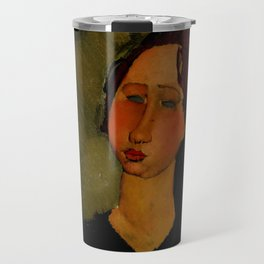 "Amedeo Modigliani ""Little Servant Girl"" Travel Mug"