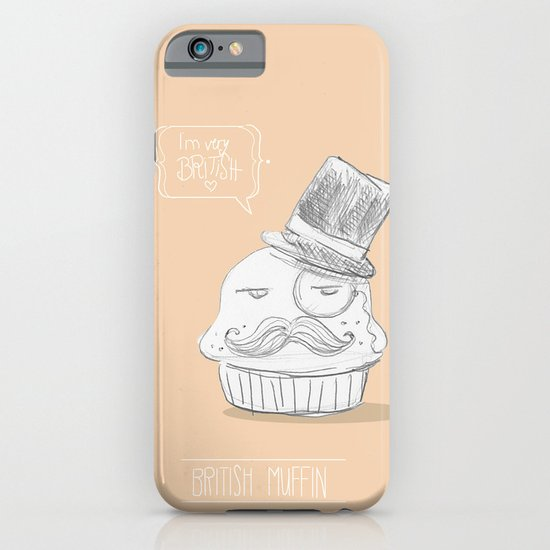 british muffin iPhone & iPod Case