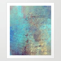 cracked Art Prints featuring Cracked by Jessielee