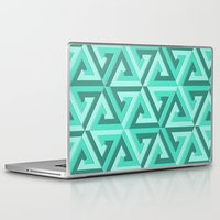 lv Laptop & iPad Skins featuring Geometrix LV by Harvey Warwick