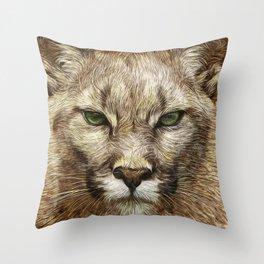 Animaline - Cougar Throw Pillow