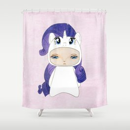 A Boy - Rarity Shower Curtain