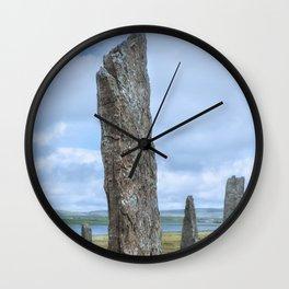 Ring of Brodgar Wall Clock