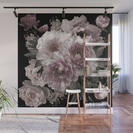 Gothic Peony Wall Mural