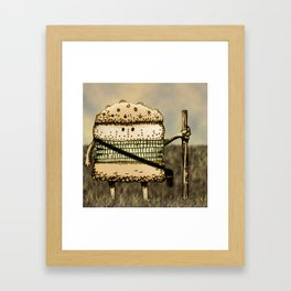 Hamburguesa pastor / Shepherd burguer Framed Art Print
