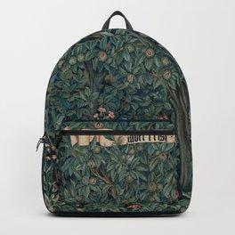 William Morris Greenery Tapestry Backpack