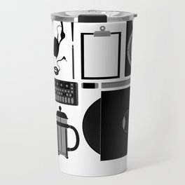 Studio Objects Vector Illustration Travel Mug