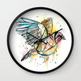 European Goldfinch  Wall Clock