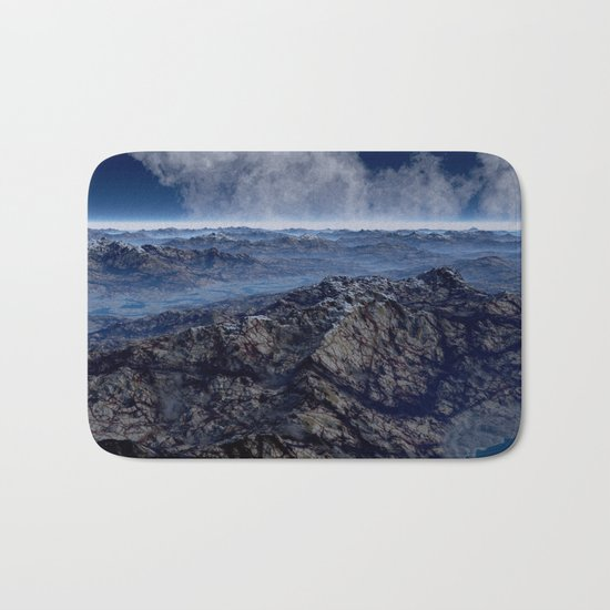 Welcome To Planet X Bath Mat