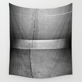 Beton Doppelbelichtung Wall Tapestry