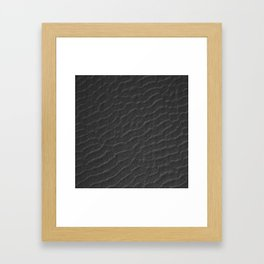 Sand Waves Framed Art Print