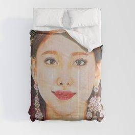 Nayeon Colour Pencil Drawing Art | Xszone Comforters