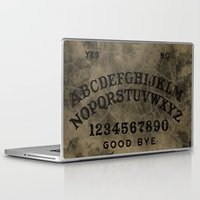 ouija Laptop & iPad Skins featuring Ouija by Andrea Raths