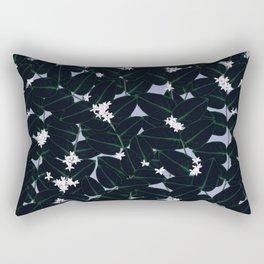 Night Blooming Rectangular Pillow