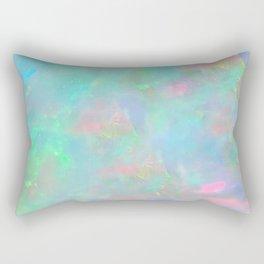 Rainbow Opal Rectangular Pillow