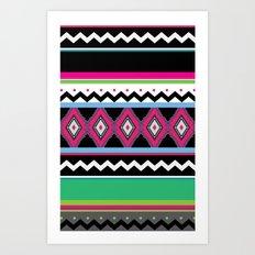 aztecgreen Art Print