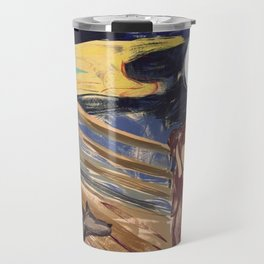 The Scream - Arabic Version Travel Mug