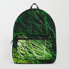 green grass field texture abstract background Backpack